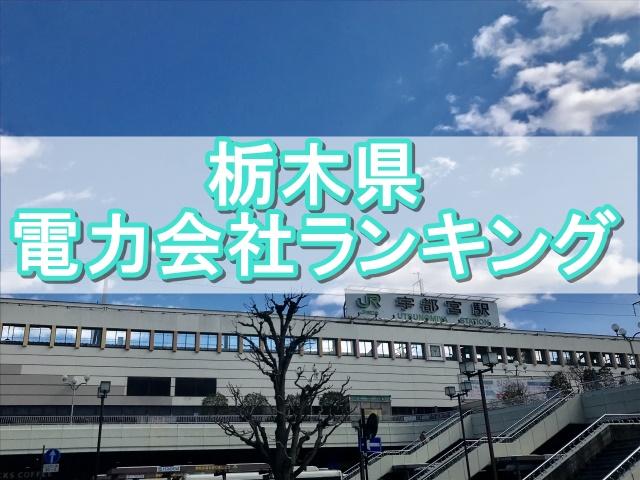 栃木県おすすめ電力会社ランニング