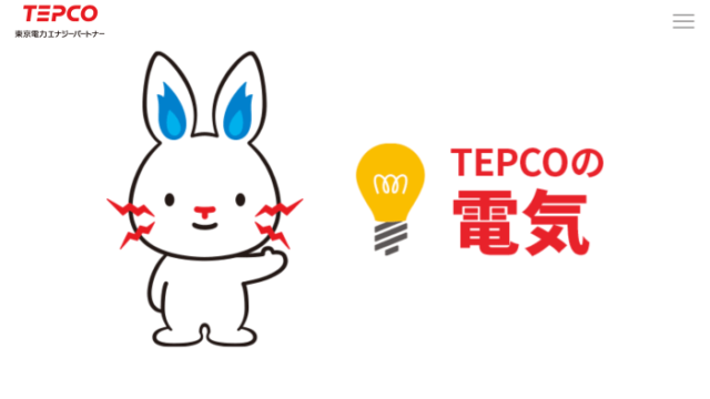 東京電力の電気